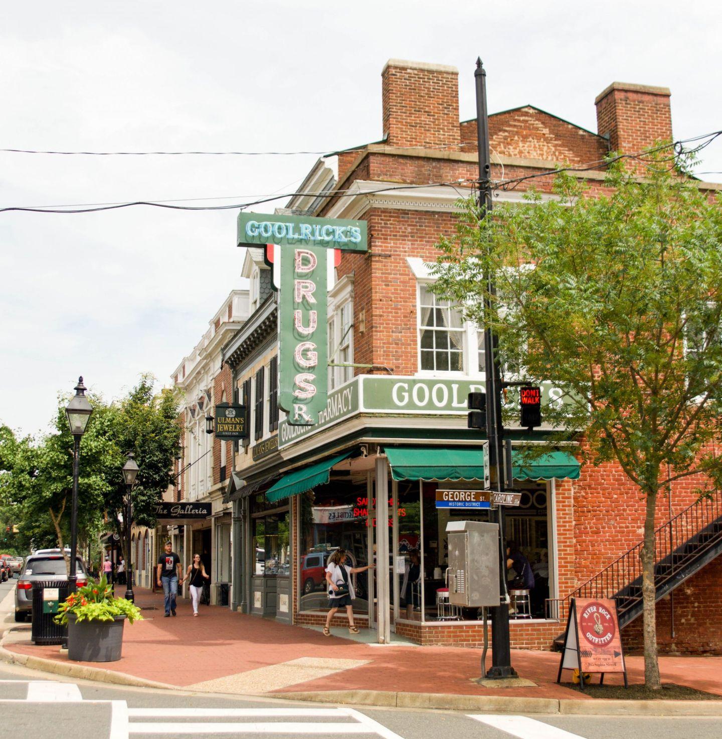 goolrick's pharmacy - goolrick's soda - visit fredericksburg - weekend in fredericksburg