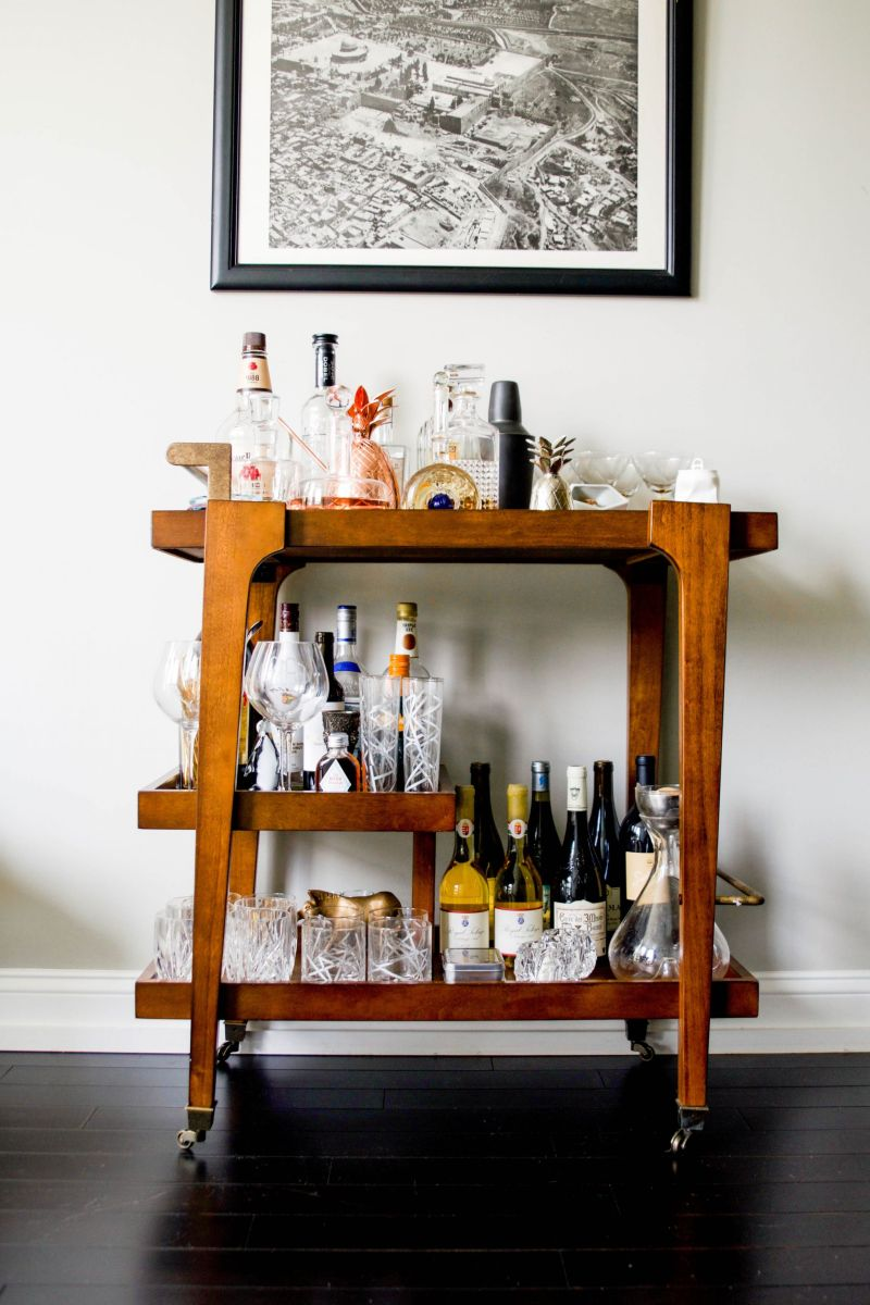 6 (Practical!) Must-Haves for Your Bar Cart