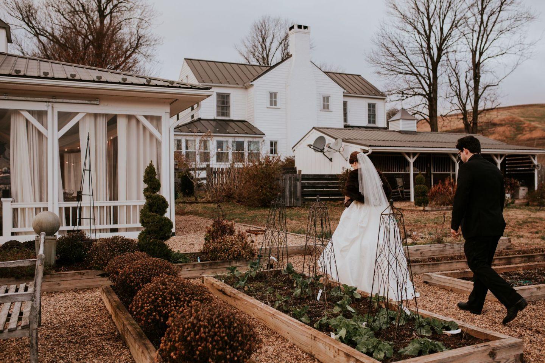 why we chose a winter wedding - december wedding - winter wedding pros and cons - farmhouse at veritas wedding