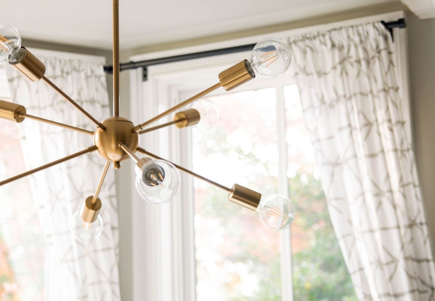 how to replace a light fixture - amazon sputnik chandelier