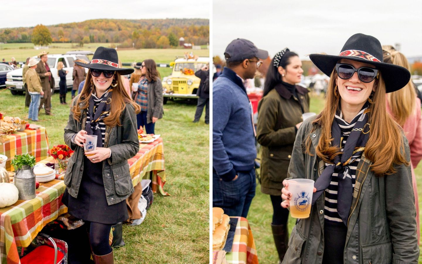 what to wear to fall gold cup - what do i wear to fall gold cup - what do i wear to a horse race in virginia - barbour at gold cup