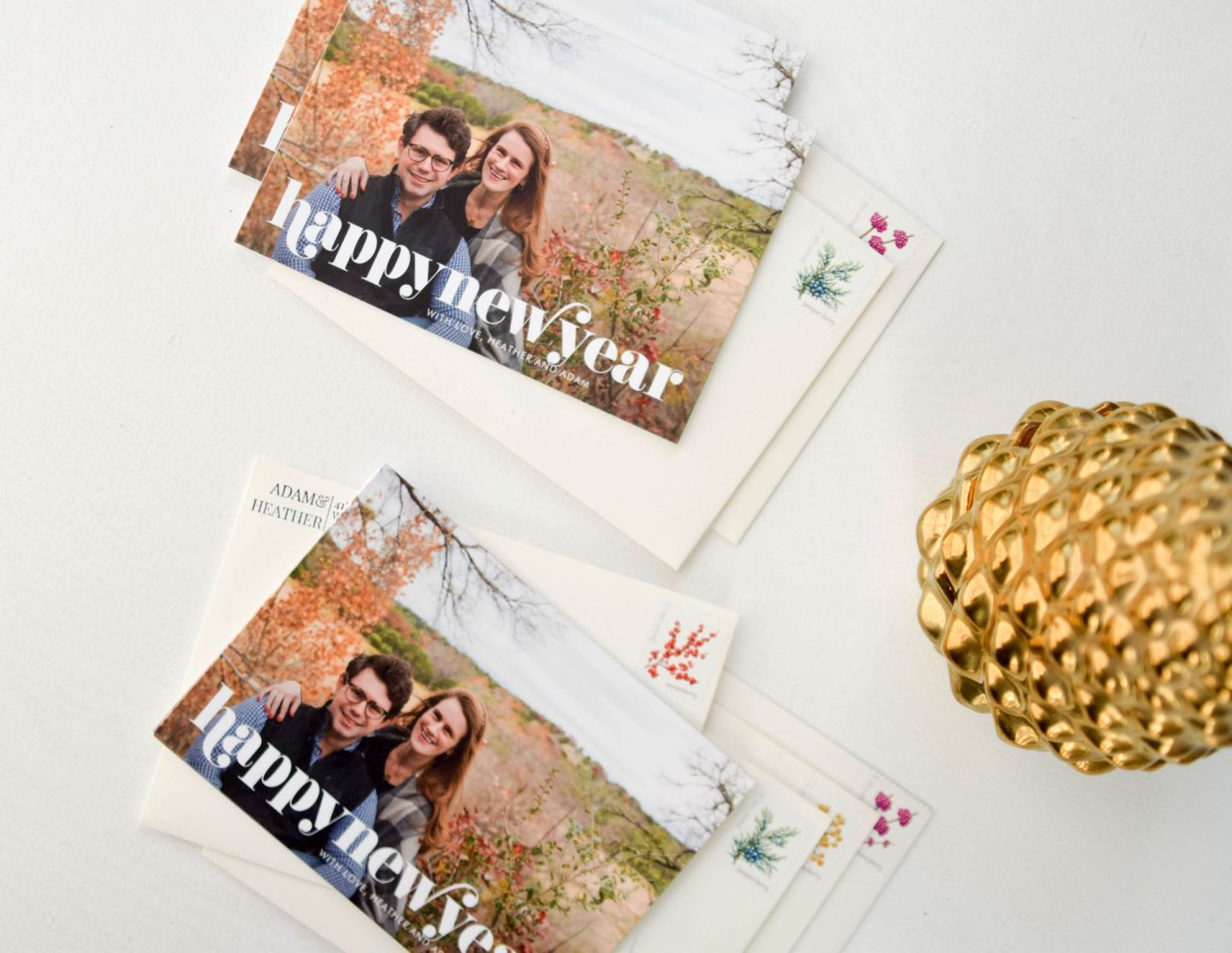 holiday cards - new year's cards - simply to impress holiday cards