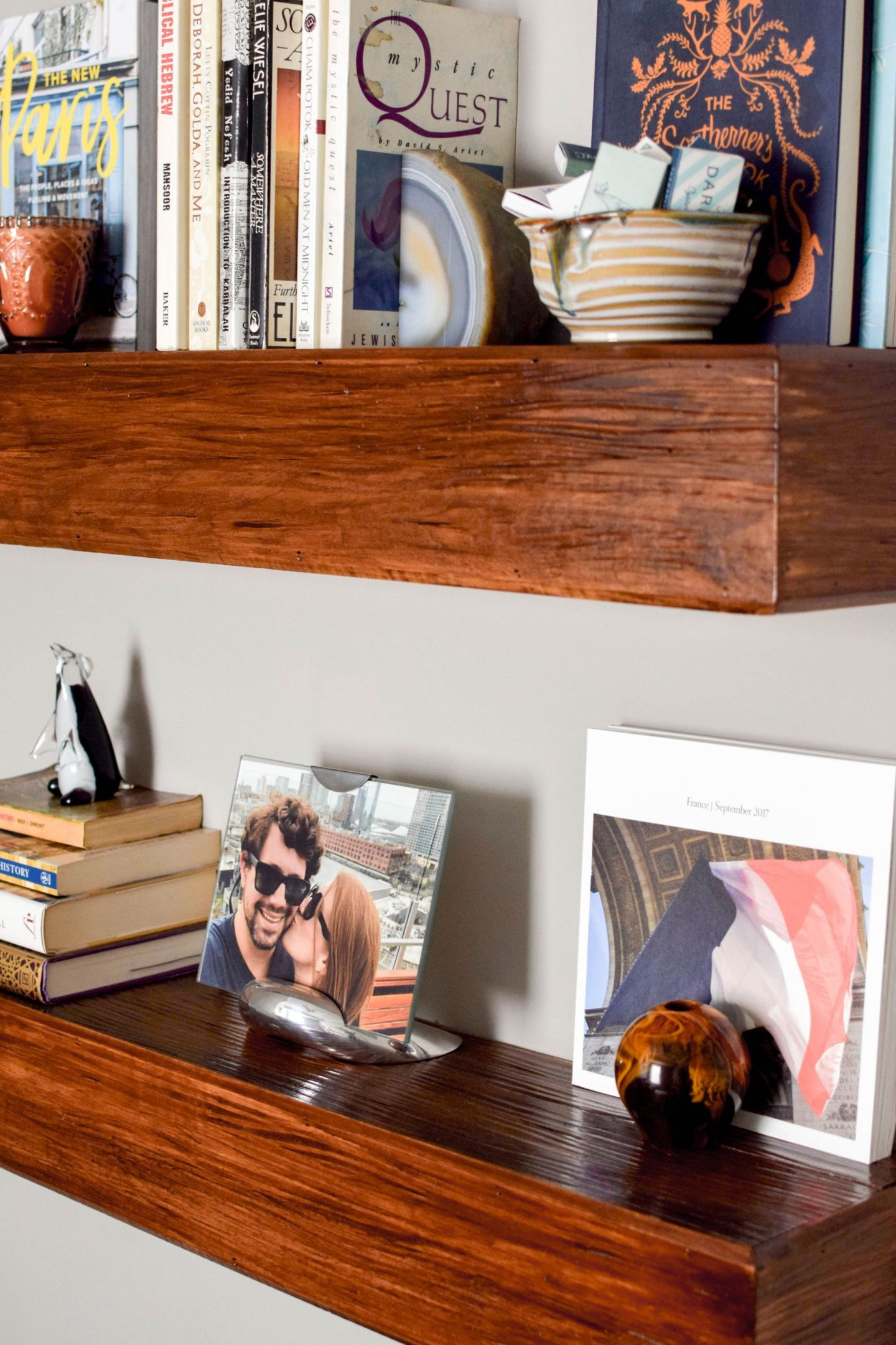 ornamental moulding and millwork wood shelves - floating wood shelves - install floating wood shelves