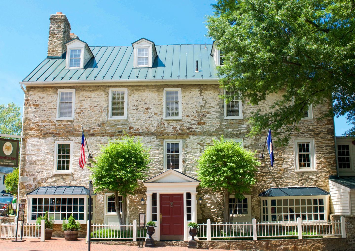 - bed and breakfasts near dc - social distancing bed and breakfast - red fox inn middleburg