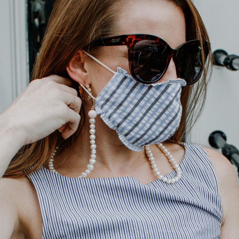 New Normal: How to Turn Old Necklaces Into Mask Chains