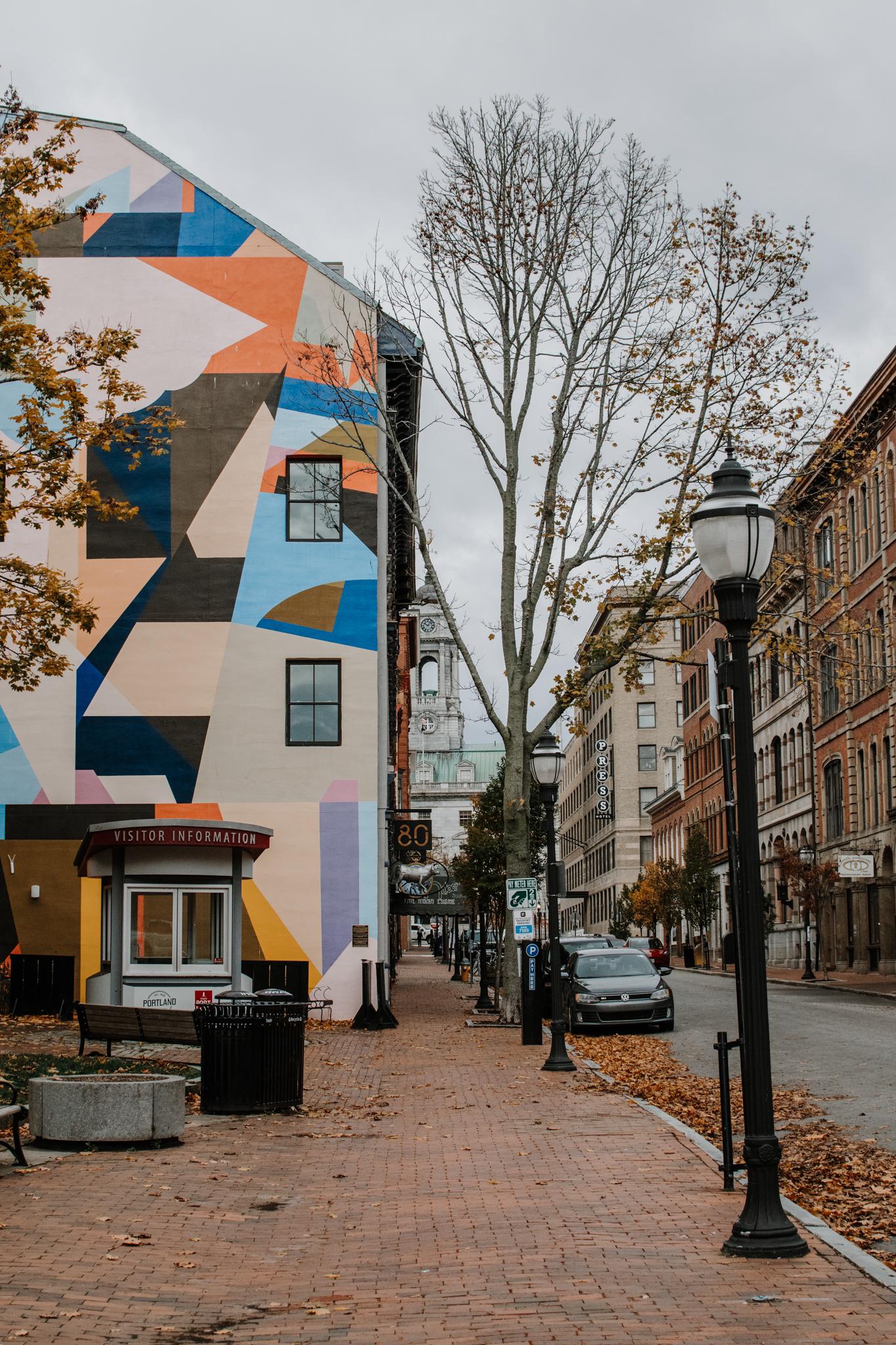 fall weekend in portland - downtown portland