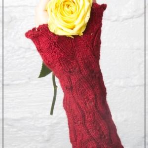 Aris Mitts Knitting Pattern