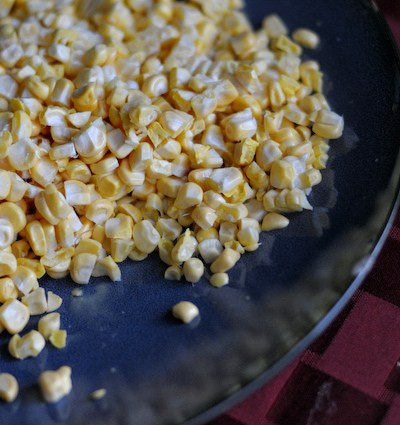 Sweet Summer Corn Risotto