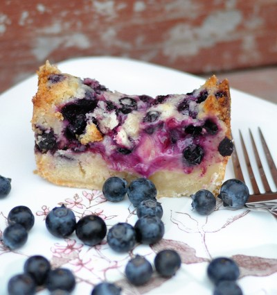 Creamy Blueberry Lime Loaf Cake