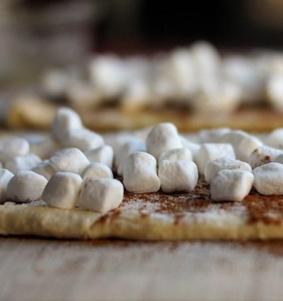 Toasted Marshmallow Cinnamon Rolls