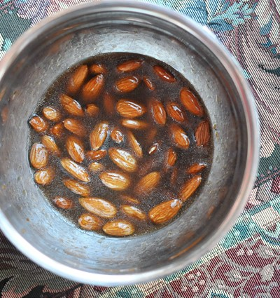 Smoked Almonds with Sea Salt