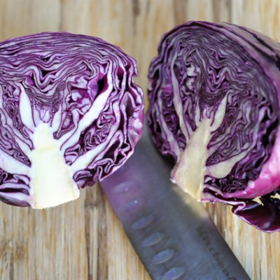 Dijon-Roasted Red Cabbage