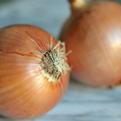 Cast Iron Onion Pizza