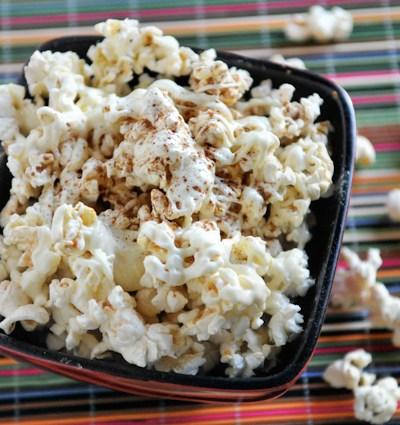 Cinnamon Sugar White chocolate Popcorn