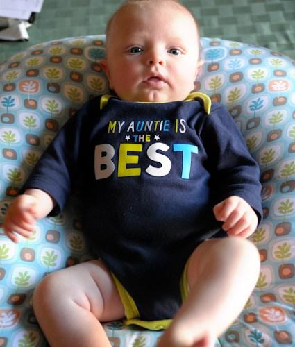 Week 10:  Little Man Alert!