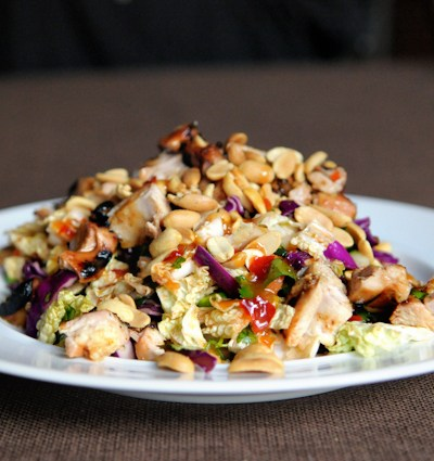 Blog Love:  Thai Crunch Chicken Salad