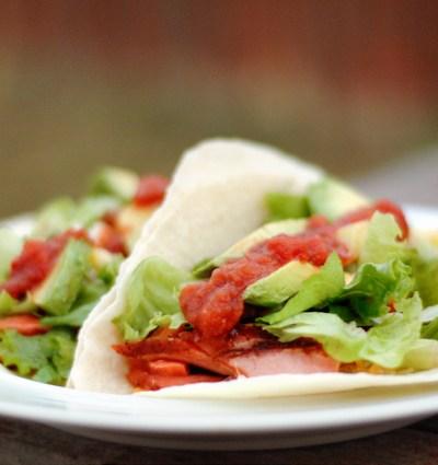 Smoked Salmon Tacos