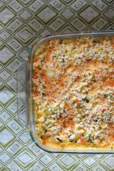 Blog Love:  Light & Tasty Zucchini Casserole