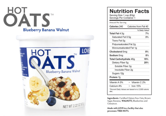 Love Grown Foods Hot Oats!