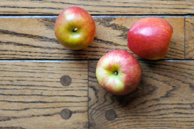 Fresh Apples // Photo by @HeathersDish