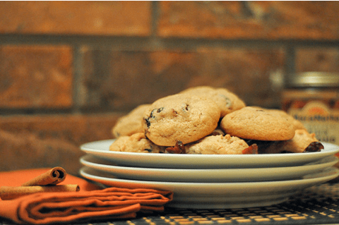 Almond Butter Cranberry Cookies