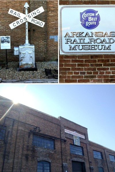 The Arkansas Railroad Museum in Pine Bluff, Arkansas