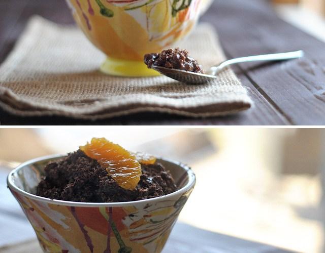 Orange Mocha Chocolate Rice Pudding