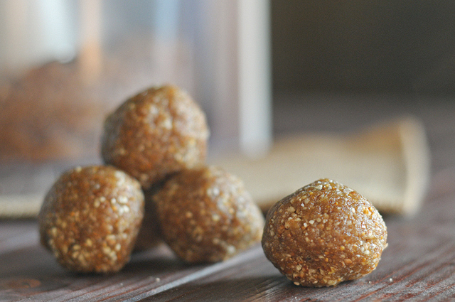 Fig Newton Pecan Balls || Heather's Dish