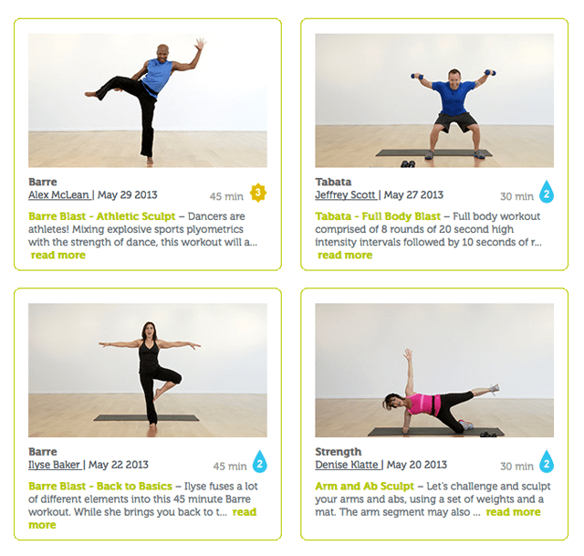 FitnessGlo.com || a simple way to get in quality workouts from home! #fitnessglo