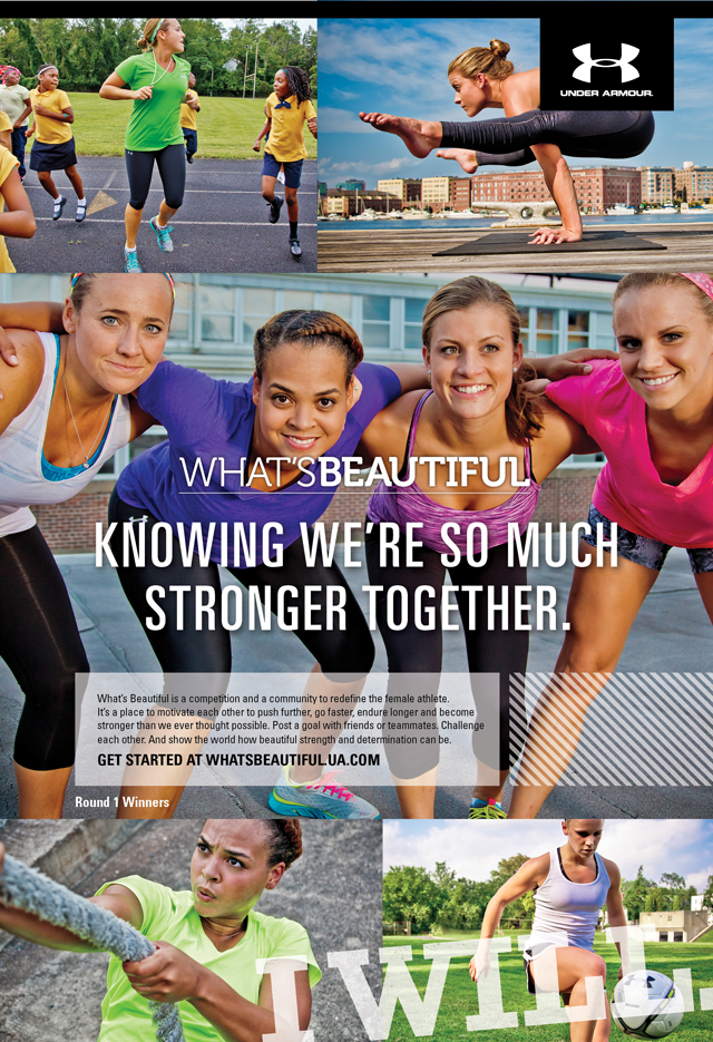 #WhatsBeautiful with Under Armour || Set goals that help you live your best life!