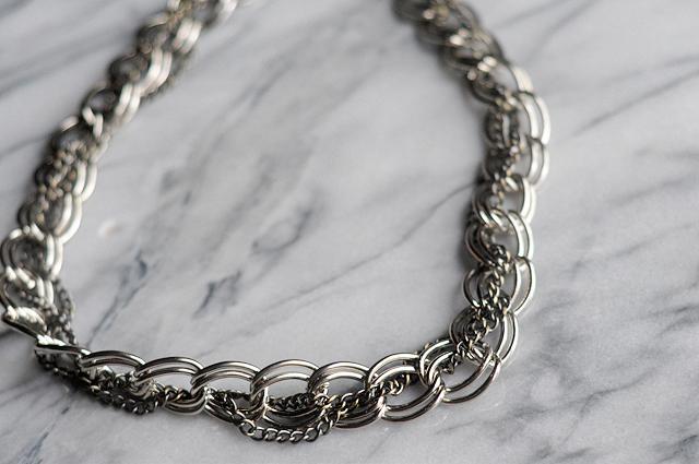 DIY $6 Chainlink Necklace || Heather's Dish #diy