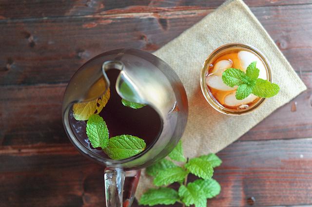 Sweet Mint Tea || Heather's Dish #sugarfree #lowcarb #stevia