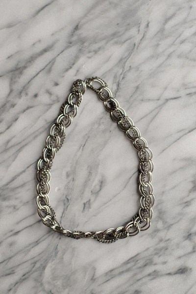 DIY $6 Chainlink Necklace