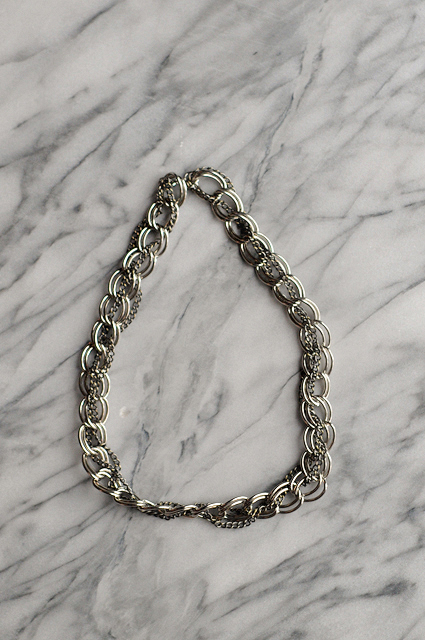 DIY $6 Chainlink Necklace || Heather's Dish #diy