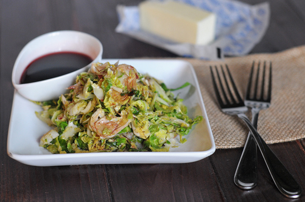 browned-butter-brussels-sprouts-with-tangy-pomegranate-vinaigrette