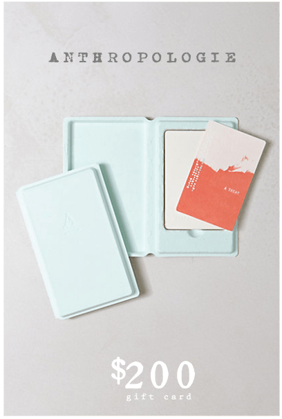 Anthropologie-Gift-Card
