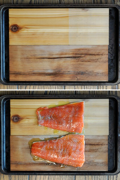 Oven-Roasted Honey Garlic Cedar Plank Salmon