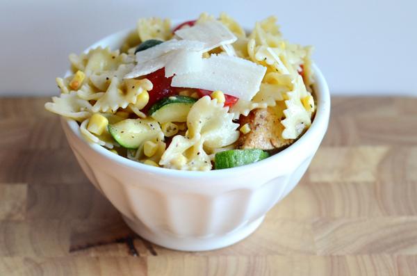 blackened-chicken-caesar-pasta-salad
