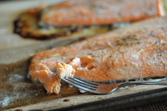how to cook cedar plank salmon in the oven