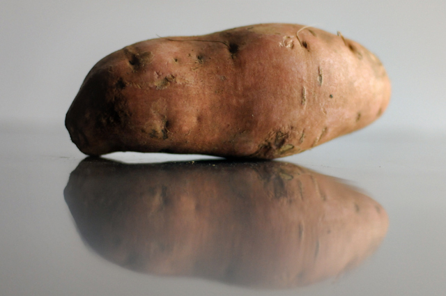 Sweet Potato Drop Biscuits || HeathersDish.com
