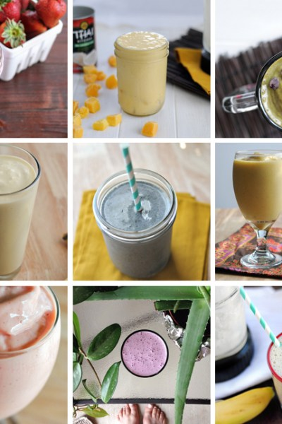 50+ Smoothie Recipes to Make You Go MMMMMMMMM || HeathersDish.com #blended #smoothies #healthyeating