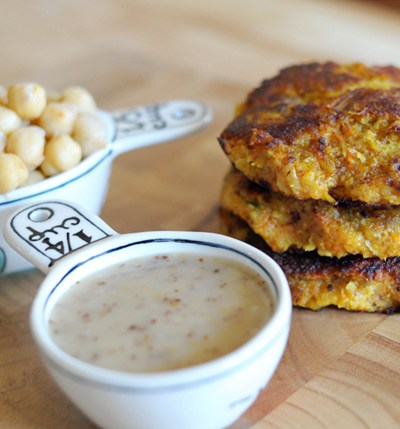 Sweet Potato Chickpea Burgers || HeathersDish.com #healthyeating #hdfit
