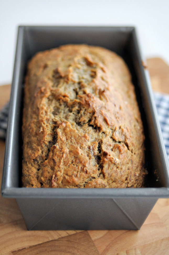 No Sugar Added Banana Bread || HeathersDish.com