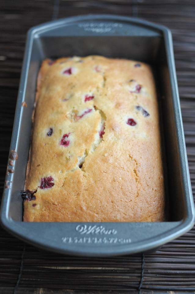 Cranberry Lime Loaf || HeathersDish.com