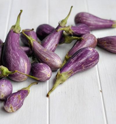 Roasted Eggplant & Garlic Pizza || HeathersDish.com