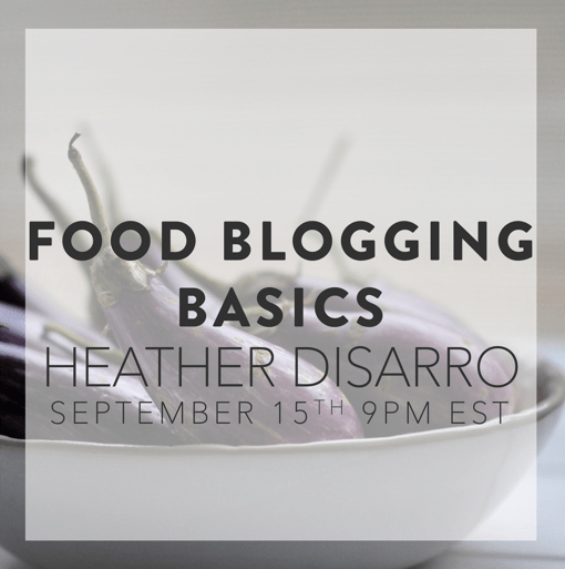 Food Blogging Basics: A Class || HeathersDish.com