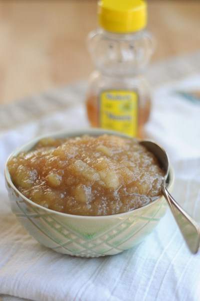 Honey-Sweetened Applesauce