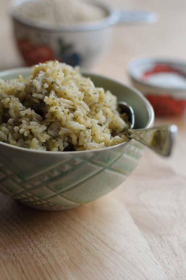 Ranch-Flavored Brown Rice