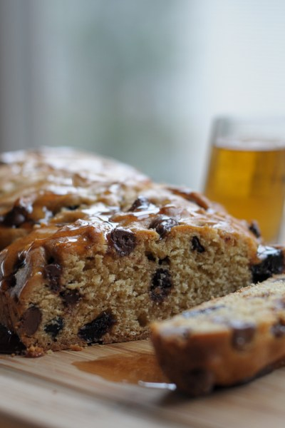 Whiskey-Soaked Cherry Chocolate Bread