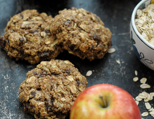 Apple Date Breakfast Cookies